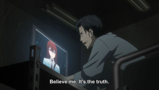 Steins;Gate 0 Episode 21 - Okabe and Amadeus