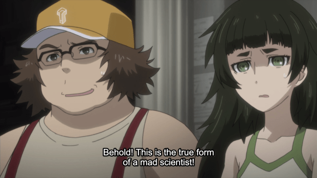 Steins;Gate Episode 22 - Daru and Miho