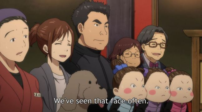 Yuri on Ice Episode 7 - Yuri's family