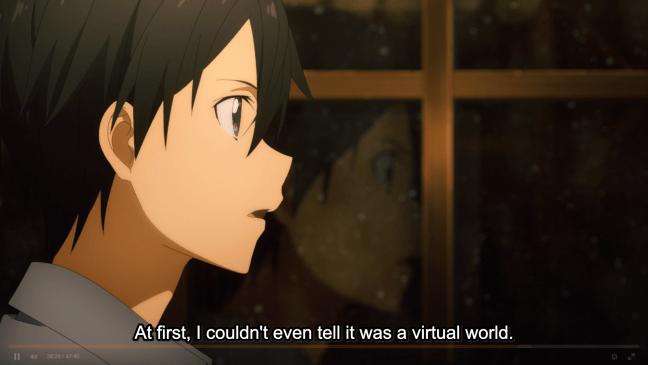 Sword Art Online Alicization Episode 1 - Kirito