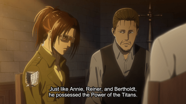 Attack on Titan Season 3 Episode 12 - Hange