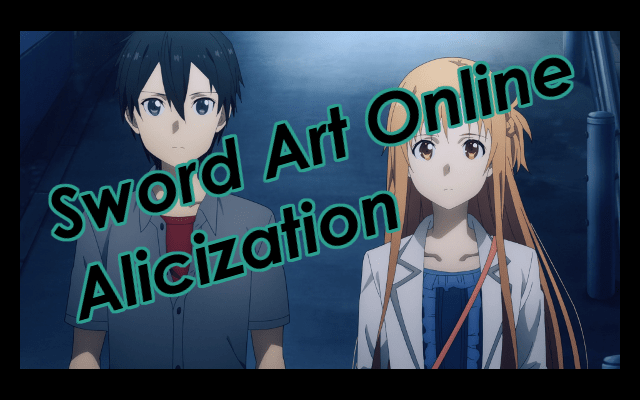 Sword Art Online Alicization Episode Review Title Image