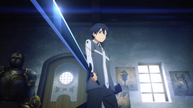Sword Art Online Alicization Episode 7 Kirito