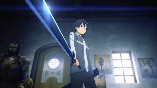 Sword Art Online Alicization Episode 7 Kirito