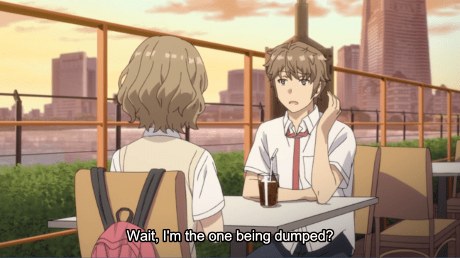 Rascal Does Not Dream of Bunny Girl Senpai Episode 6 - Sakuta and Tomoe