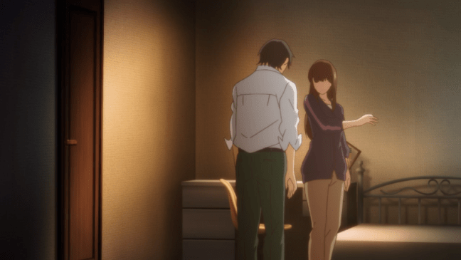 Domestic Girlfriend Episode 3 Natsuo and Hina