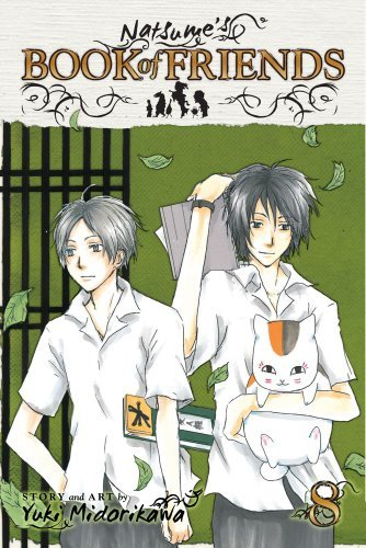 Natsume's Book of Friends Volume 8 Manga Cover