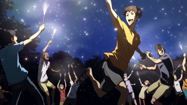 Run With The Wind Episode 14 Fireworks