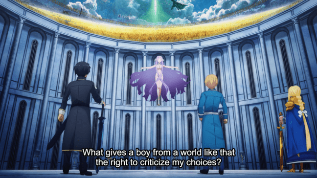 Sword Art Online Alicization Episode 22