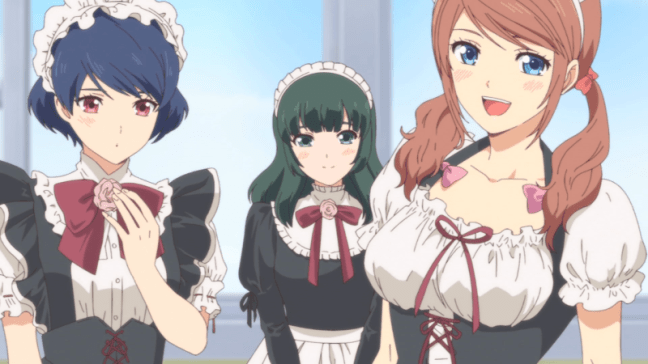 Domestic Girlfriend Episode 10 Anime Maids