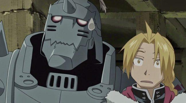 Full Metal Alchemist Brotherhood Alphone and Edward Elric