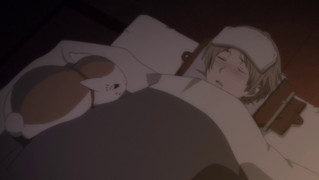 Natsume with a fever