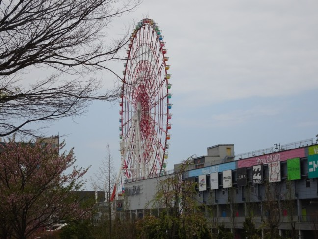 Venus Fort and Ferris Wheel Odaiba