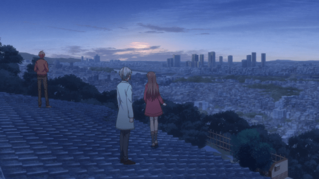 Watching the sun-rise in Fruits Basket 2019.