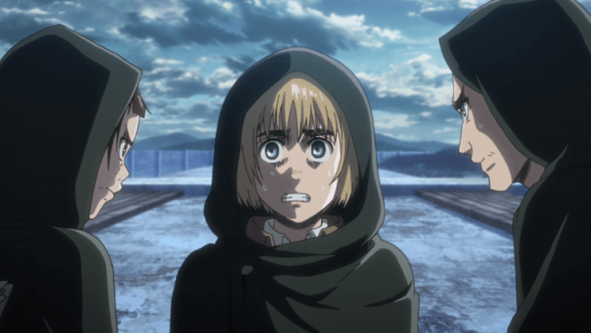 Attack on Titan Season Three Part Two Episode 1 - Armin
