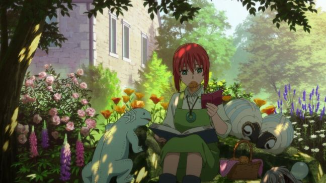 Chise - The Ancient Magus' Bride - Garden