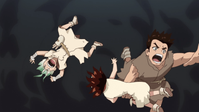Dr Stone Review Episode 4 100 Word Anime