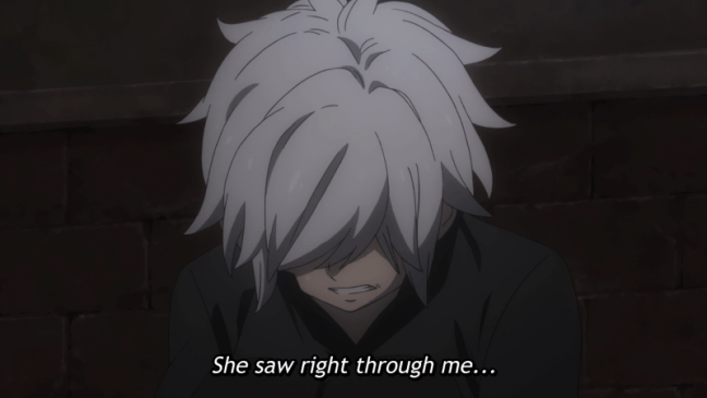 Bell - She saw right through me - DanMachi episode 9