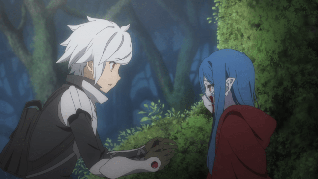 Bell and Weine meet - Season 3 Episode 1 of DanMachi