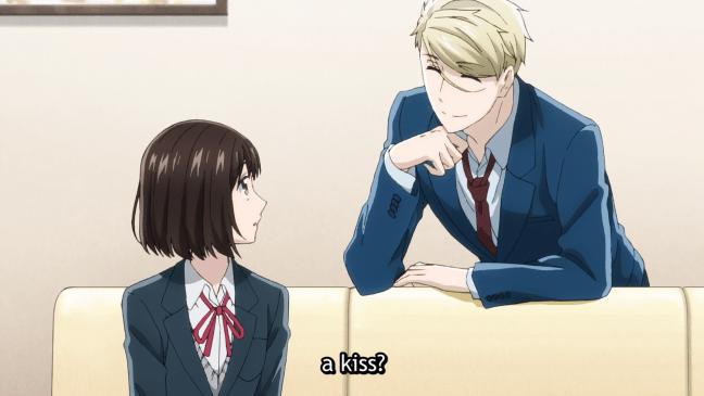 Ryo harassing Ichika. Image from Koikimo 2021.