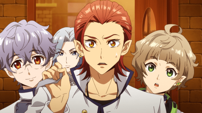 The boys from Fairy Ranmaru