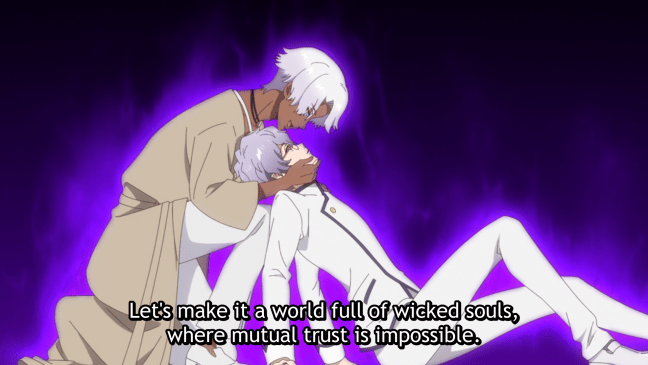 Villain with incomprehensible motive - Fairy Ranmaru has you covered.