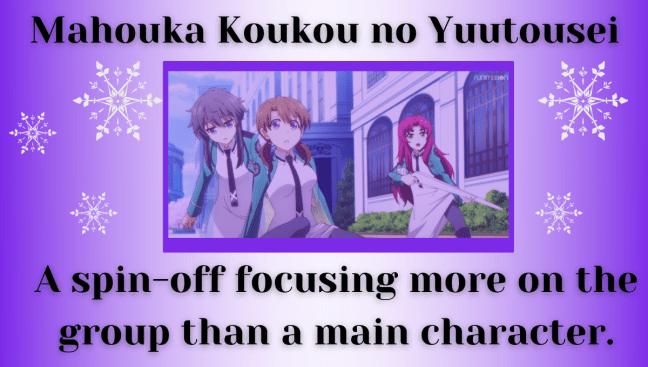 Mahouka Koukou no Yuutousei - Article