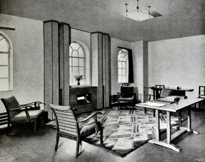 The adult patients waiting room, 1932
