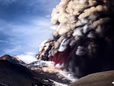 Etna, eruzione del sud-est
