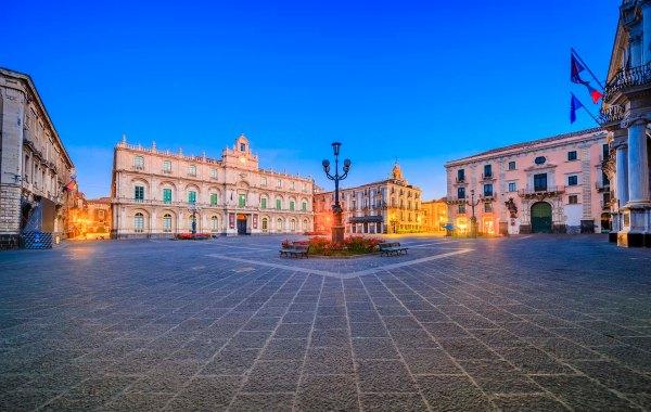 Catania, Piazza Università
