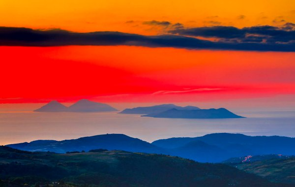 Vulcano, Lipari e Salina