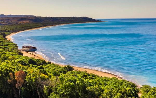 La spiaggia di Eraclea Minoa