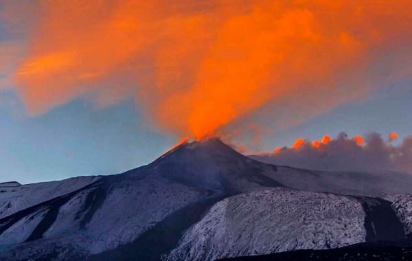 Etna, le colate laviche del sud est