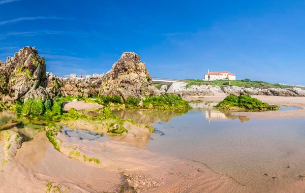Spiaggia Virgen del Mar, Santander