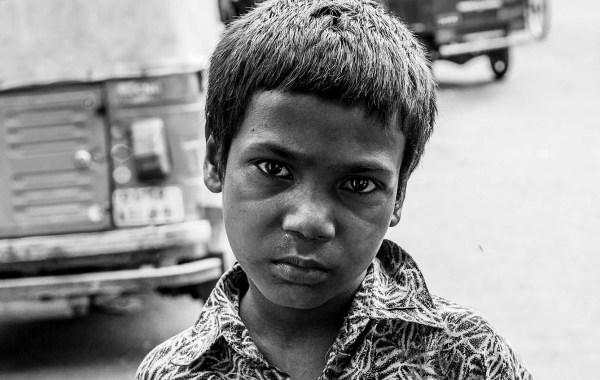 New Delhi, gli occhi della tristezza