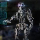 稼働するロボット