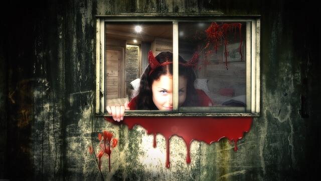 悪魔の女の子