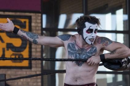 F1rst Wrestling Arik Cannon vs Danhaussen vs Ethan Page 081521 8205
