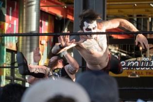 F1rst Wrestling Arik Cannon vs Danhaussen vs Ethan Page 081521 8211