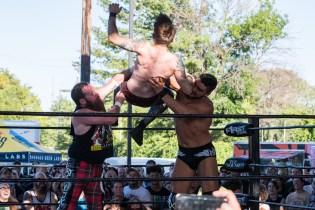 F1rst Wrestling Arik Cannon vs Danhaussen vs Ethan Page 081521 8246