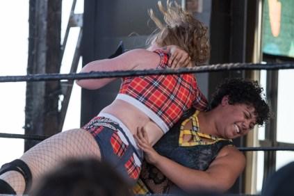 F1rst Wrestling Free Range Kara vs Brooke Valentine 081521 8185