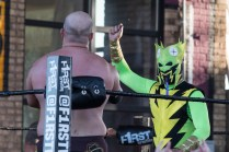 F1rst Wrestling Manders of the West and Renny D vs Thunderfrog and Yellow Dog 081521 8308
