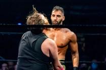 First Wrestling Wrestlepalooza Arik Cannon vs Ariya Daivari 01352