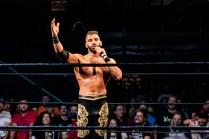 First Wrestling Wrestlepalooza Ariya Daivari talks to Darius Martin 01423