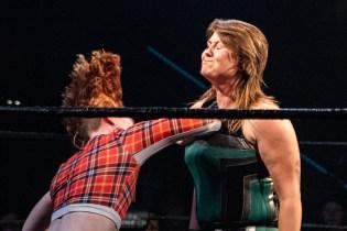 First Wrestling Wrestlepalooza Badger Briggs vs Free Range Kara 00886