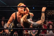 First Wrestling Wrestlepalooza Darin Corbin vs Danhaussen 01033