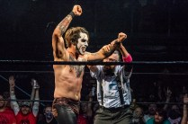First Wrestling Wrestlepalooza Darin Corbin vs Danhaussen 01049