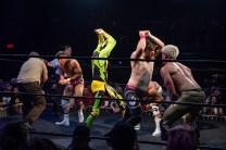 First Wrestling Wrestlepalooza Iron Rebel Renny D vs Brandon Gore vs Scott Story vs Rylie Jackson vs Deputy Rob Justice vs Atomic Super Thunderfrog 01219