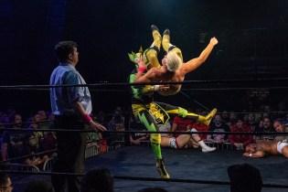 First Wrestling Wrestlepalooza Iron Rebel Renny D vs Brandon Gore vs Scott Story vs Rylie Jackson vs Deputy Rob Justice vs Atomic Super Thunderfrog 01248