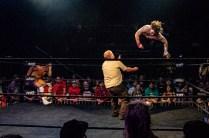 First Wrestling Wrestlepalooza Iron Rebel Renny D vs Brandon Gore vs Scott Story vs Rylie Jackson vs Deputy Rob Justice vs Atomic Super Thunderfrog 01255